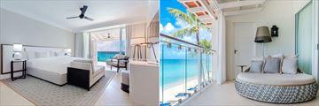 Beachfront Junior Suite at The Fairmont Royal Pavilion