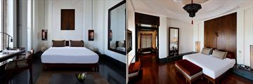 The Chedi - Oman, Deluxe Room and Chedi Club Suite