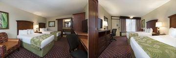 Double Guest Rooms at Rosen Inn International