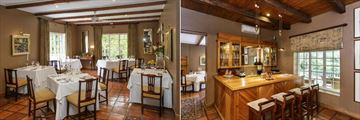 The Dining Room and The Wine Bar at Rosenhof Country House