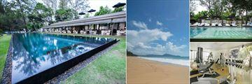 SALA Phuket Resort & Spa, Lap Pool, Maikhao Beach, Fun Pool and Gym