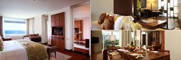 Ocean Front Samabe Suite, Honeymoon Suite and Family Suite at Samabe Bali Suites & Villas