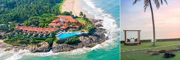 Saman Villas, Bentota, Aerial View of Villas and Destination Dining