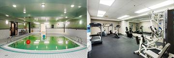 Sandman Hotel Victoria, Pool and Fitness Room