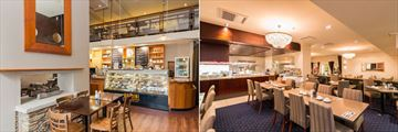 Scenic Hotel Southern Cross, Boldini Cafe & Wine Bar and The Carlton Restaurant