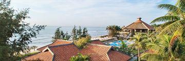 Seahorse Resort & Spa, Aerial Views of Resort, Pool and Beach