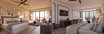 Junior Suite Deluxe and Junior Suite Sea View at Secrets Bahia Real Resort & Spa