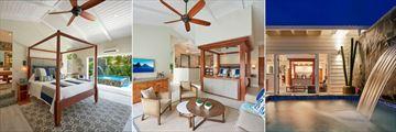 Serenity at Coconut Bay, Premium Plunge Pool Butler Service, Grande Plunge Pool Butler Service and Grande Suite Plunge Pool