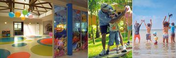 Shandrani Beachcomber Resort & Spa, Kids' Club Interior, Golf Lesson and Beach Activities