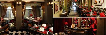 Shanghai Mansion Bangkok, Red Rose Restaurant, Cotton Breakfast Restaurant and Red Rose Bar Area