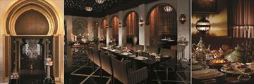 Shangri-La Al Husn Resort & Spa, Dining Options