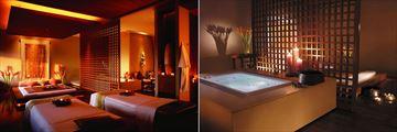 Shangri-La, Bangkok, Chi, The Spa Couples Treatment Room and Jacuzzi