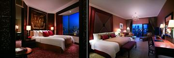 Shangri-La, Bangkok, Premier Suite and Krungthep Deluxe Balcony