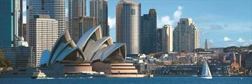 Shangri-La Hotel Sydney, Hotel Exterior, Sydney Opera House and Central Business District