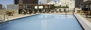 Rooftop Pool at Sheraton New Orleans Hotel