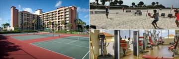 Sheraton Sand Key Resort, Tennis Courts, Beach Sports and Fitness Centre