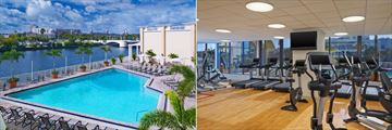 Sheraton Tampa Riverwalk Hotel, Heated Outdooor Pool and Fitness Centre