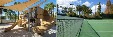 Sheraton Vistana Villages, Playground and Tennis Courts