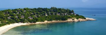 Six Senses Samui, Aerial View of Resort
