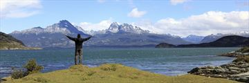 Soaking up the incredible Patagonian scenery