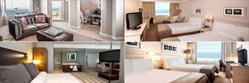 Southern Sun Elangeni, Presidential Suite, Junior Suite, Executive Room and Superior Room