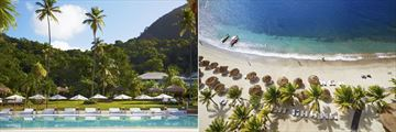 Sugar Beach, A Viceroy Resort, Pool and Beach
