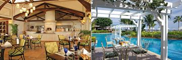 Sugar Beach Resort & Spa, Citronella's Cafe and Mon Plaisir Restaurant