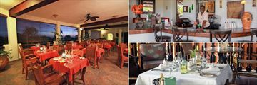 La Sala Restaurant, Main Bar and Spa Gazebo at Sugar Cane Club Hotel & Spa