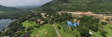 Sun City Cabanas, Aerial View of Cabanas, Soho, Waterworld and the Lake