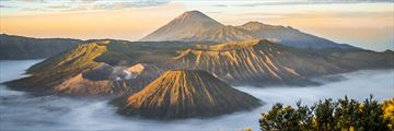 Sunrise at Mount Bromo in Java, Indonesia
