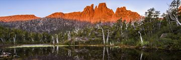 Sunset over Mount Geryon, Cradle Mountain