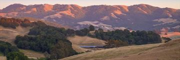 Sunset over Sonoma Valley