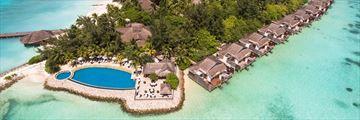 Taj Coral Reef Resort & Spa, Aerial View of Resort