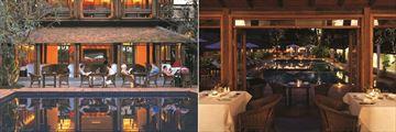 Tamarind Village Chiang Mai, Ruen Tamarind Restaurant and the Pool View from the Ruen Tamarind Restaurant