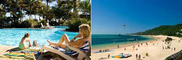 Tangalooma Island Resort, Pool and Beach