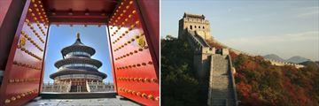 Temple of Heaven & Badaling Great Wall, Beijing