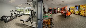 The Avanti Resort, Fitness Centre and Games Room