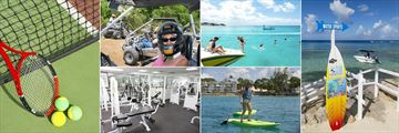 Tennis, Tours and Excursions, Fitness Centre, Snorkeling, Paddle Boarding and Water Sports at The Club Barbados Resort & Spa