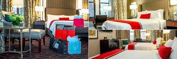 Deluxe Room, Boutique Room and Premier Bedroom Two Doubles at The Copley Square