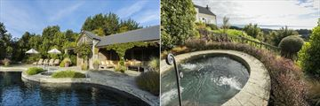 The Farm at Cape Kidnappers, Main Pool and Jacuzzi