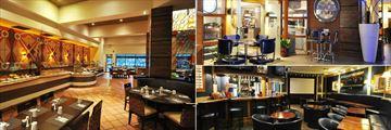 The Grand Orlando Resort at Celebration, Mandolin's Restaurant, Parkway Deli Diner and Sports Lounge & Cascade Poolside Bar