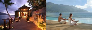 The Hilton Seychelles Northolme Resort & Spa, Spa Entrance and Yoga