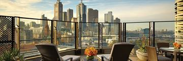 The Langham Melbourne, Executive Terrace Room Terrace and Views