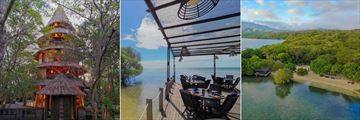 The Menjangan Resort, Bali Tower Bistro, Pantai Restaurant with Ocean View and Pantai Restaurant Aerial View