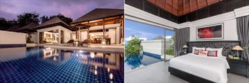 Ocean View Pool Villa and Tropical Pool Villa at The Pavilions Phuket