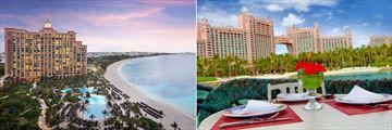 The Reef Atlantis, Exterior Views and Lagoon Bar & Grill