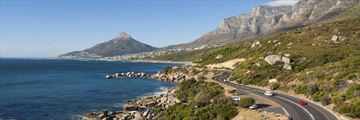 Roads near to Cape Town