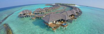 The Sun Siyam Iru Fushi, Over Water Villas