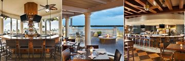 The Westin Cape Coral Resort at Marina Village, The Nauti Mermaid Dockside Bar & Grill and Marker 92 Waterfront Bar & Bistro Exterior and Interior