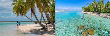 Tikehau Ninamu Resort, Beach and Standup Paddleboarding